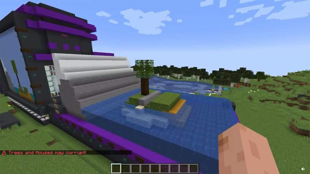 Геймер показал MS Paint в Minecraft, который может создавать 3D-модели