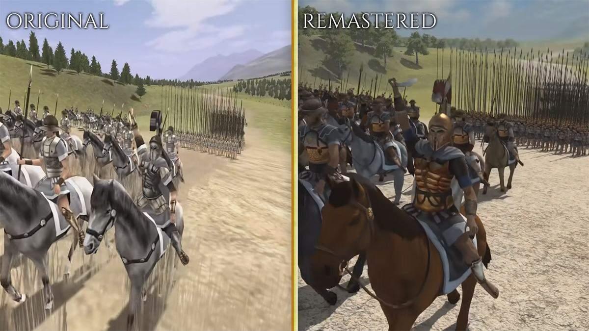 Все детали о ремастере Rome: Total War и сравнение с оригиналом