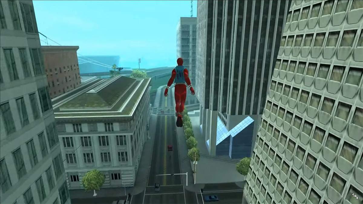 Для GTA: San Andreas вийшла модифікація з Людиною-павуком