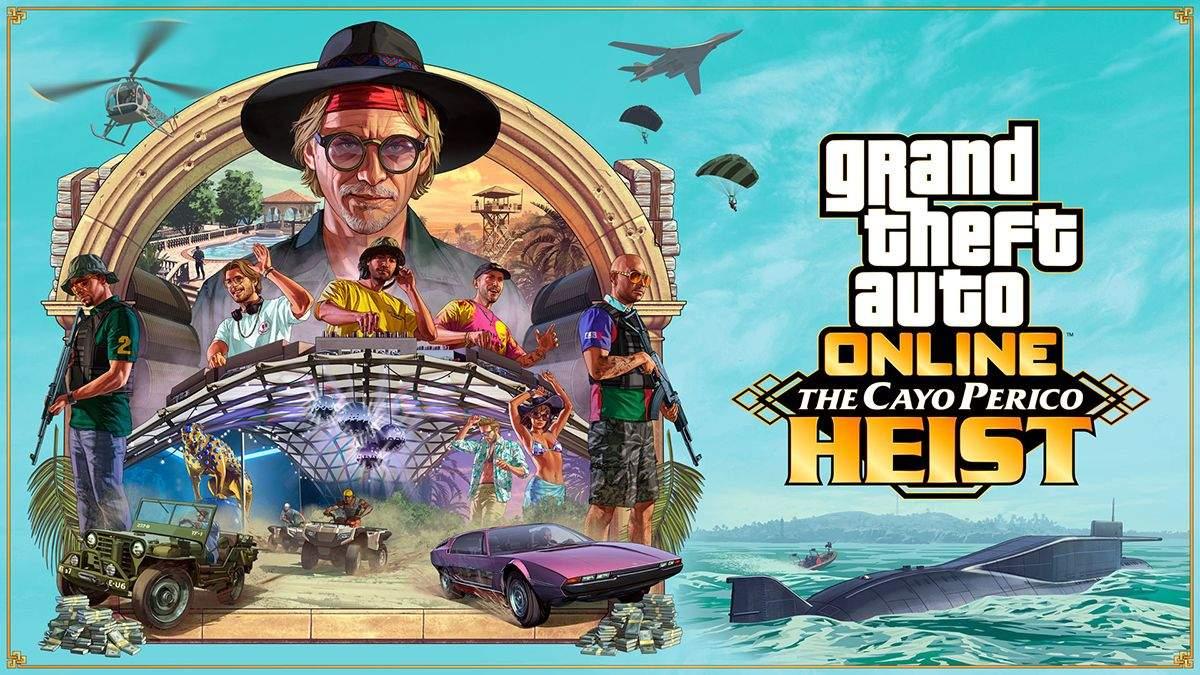 Пограбування в офлайні: ентузіаст переніс доповнення The Cayo Perico Heist у відеогру GTA V