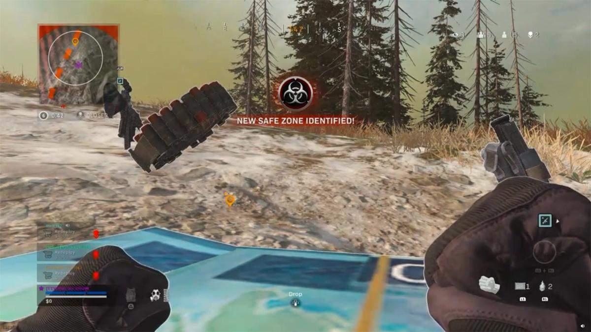 Геймер сумел победить в матче Call of Duty: Warzone, притворившись мертвым – забавное видео