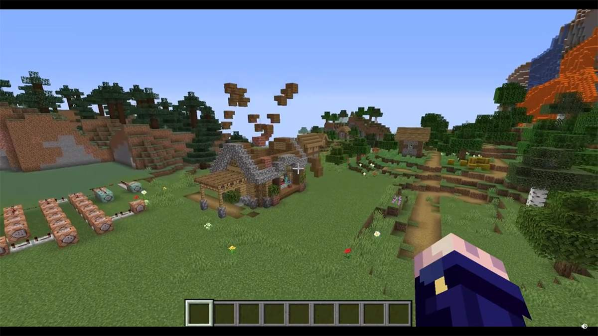 Почти уличная магия: игрок в Minecraft показал дом, который собирается автоматически – видео