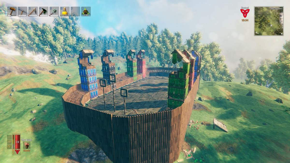 10 очков этому геймеру: энтузиаст воссоздает Хогвартс в видеоигре Valheim – фото