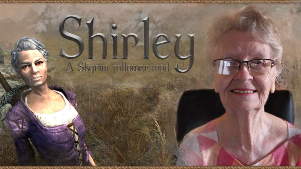 Возраст – не помеха: 85-летняя бабушка озвучила модификацию для видеоигры Skyrim – видео