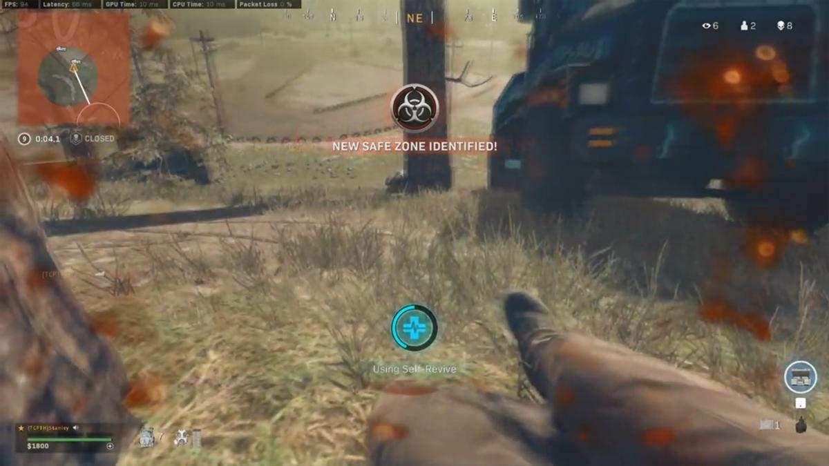 Гравець Warzone пережив справжні емоційні гойдалки у фінальному колі: кумедне відео
