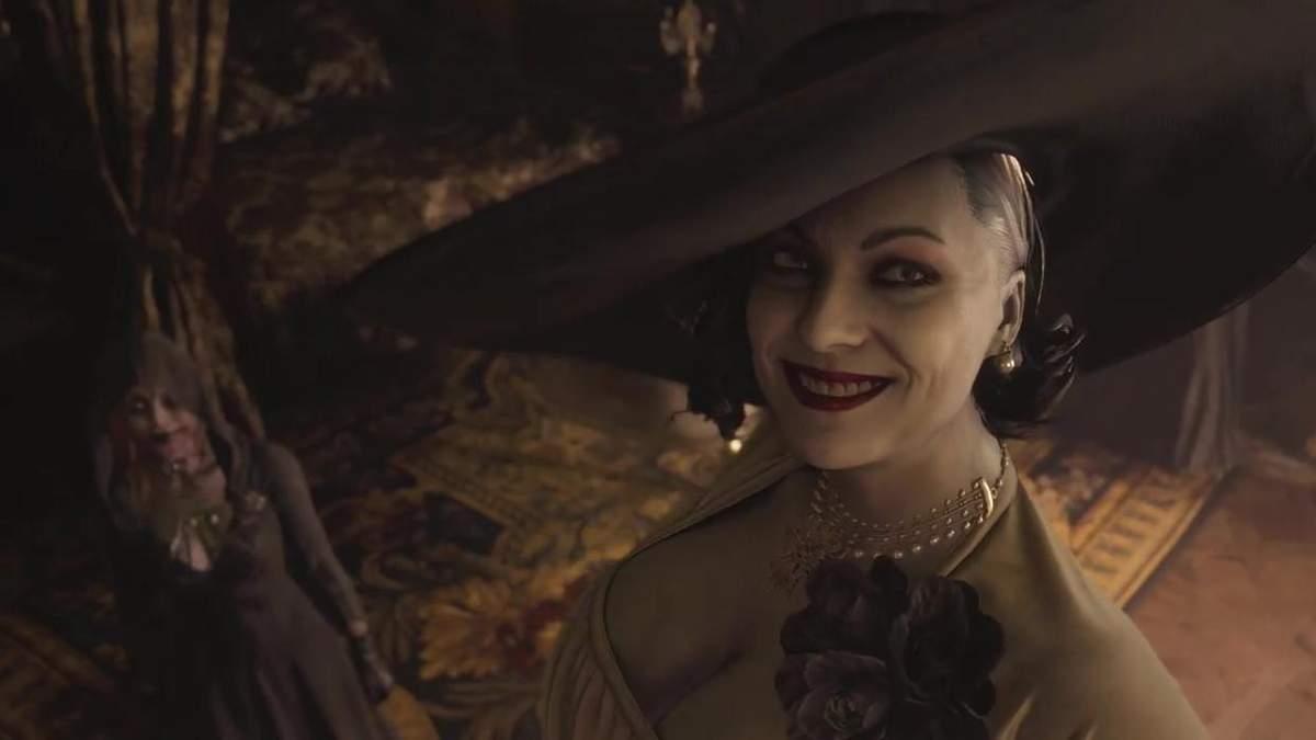 Кто стоит за Леди Димитреску: фото модели, подарившей внешность вампирше из Resident Evil