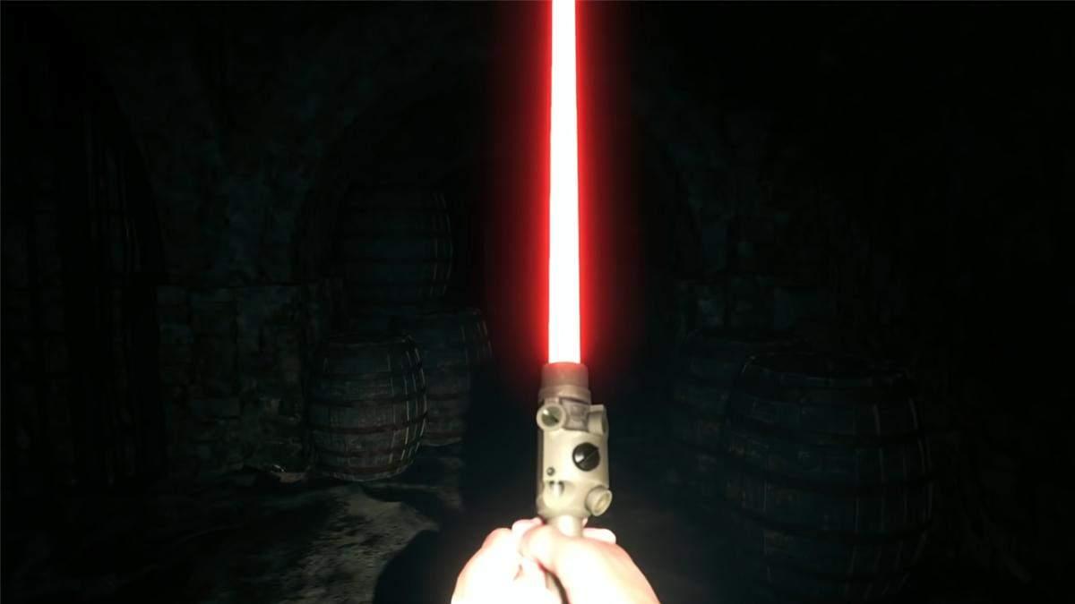 """Як отримати світловий меч із """"Зоряних війн"""" у Resident Evil: Village"""
