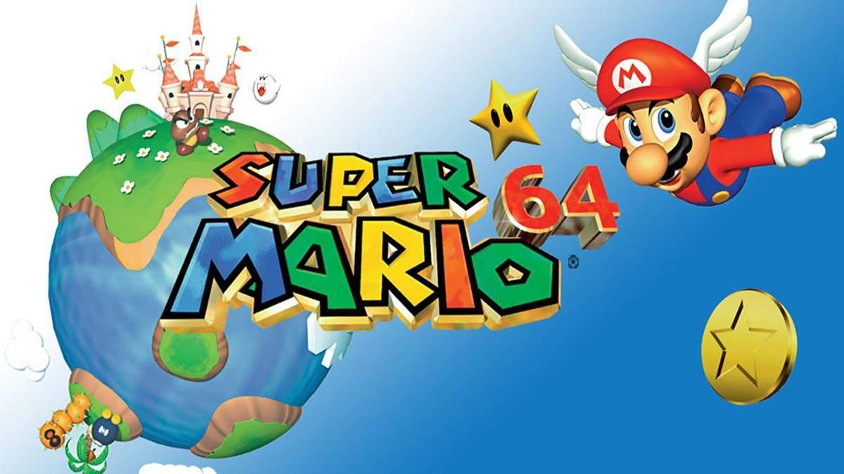 Ентузіаст пройшов культову відеогру Super Mario 64 на барабанах