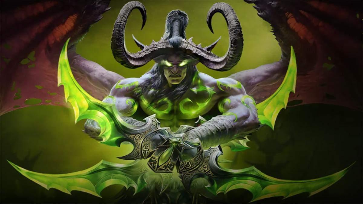 Ентузіасти відтворили зброю Іллідана з World of Warcraft