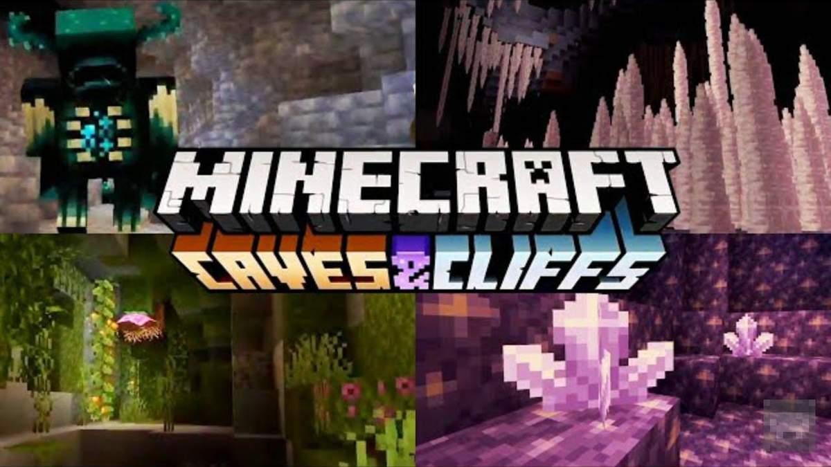 Масштабное обновление Minecraft: Caves & Cliffs
