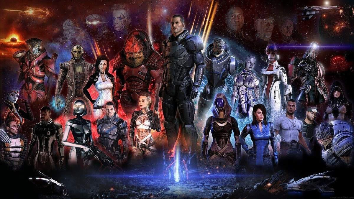 Известно кто самый популярный напарник Шепарда в первой части Mass Effect: Legendary Edition