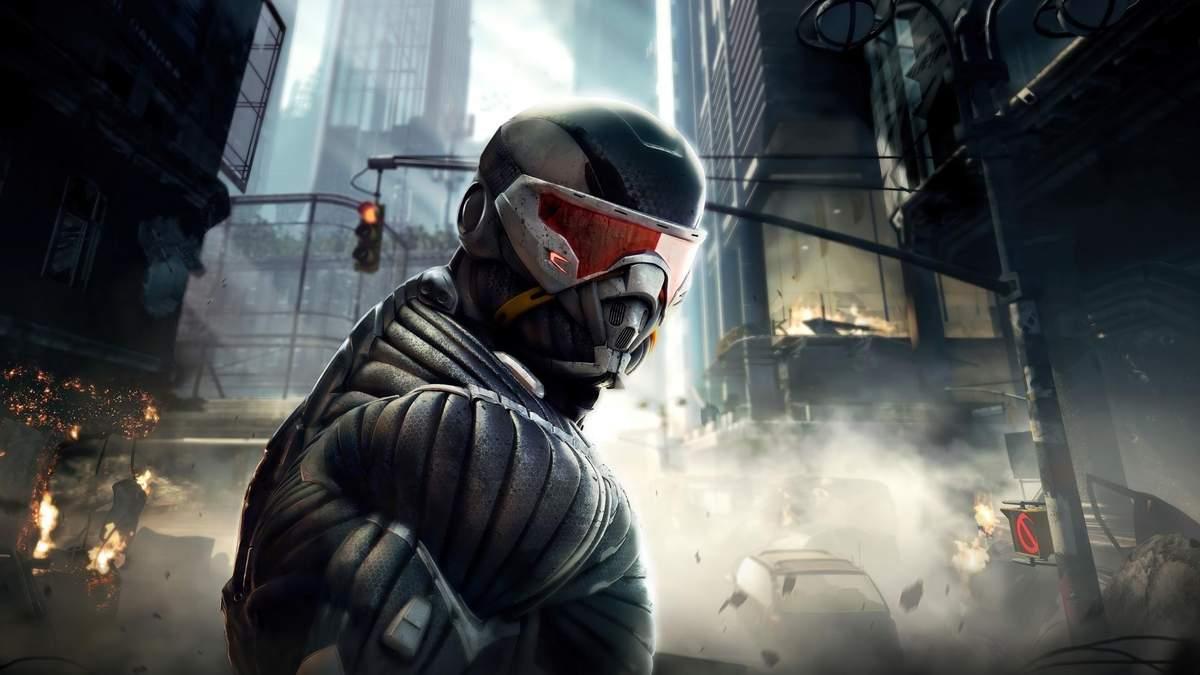 Crytek анонсували ремастер серії Crysis