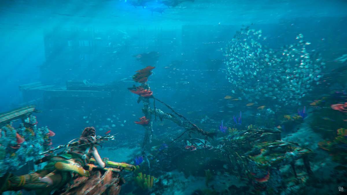 """Вода """"наступного покоління"""": розробники Horizon Forbidden West обіцяють вразити геймерів"""