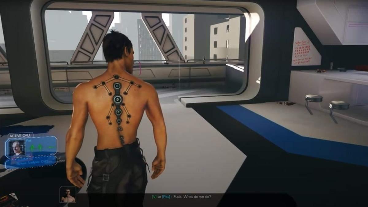 Геймплейное видео Cyberpunk 2077 версии 2013 года