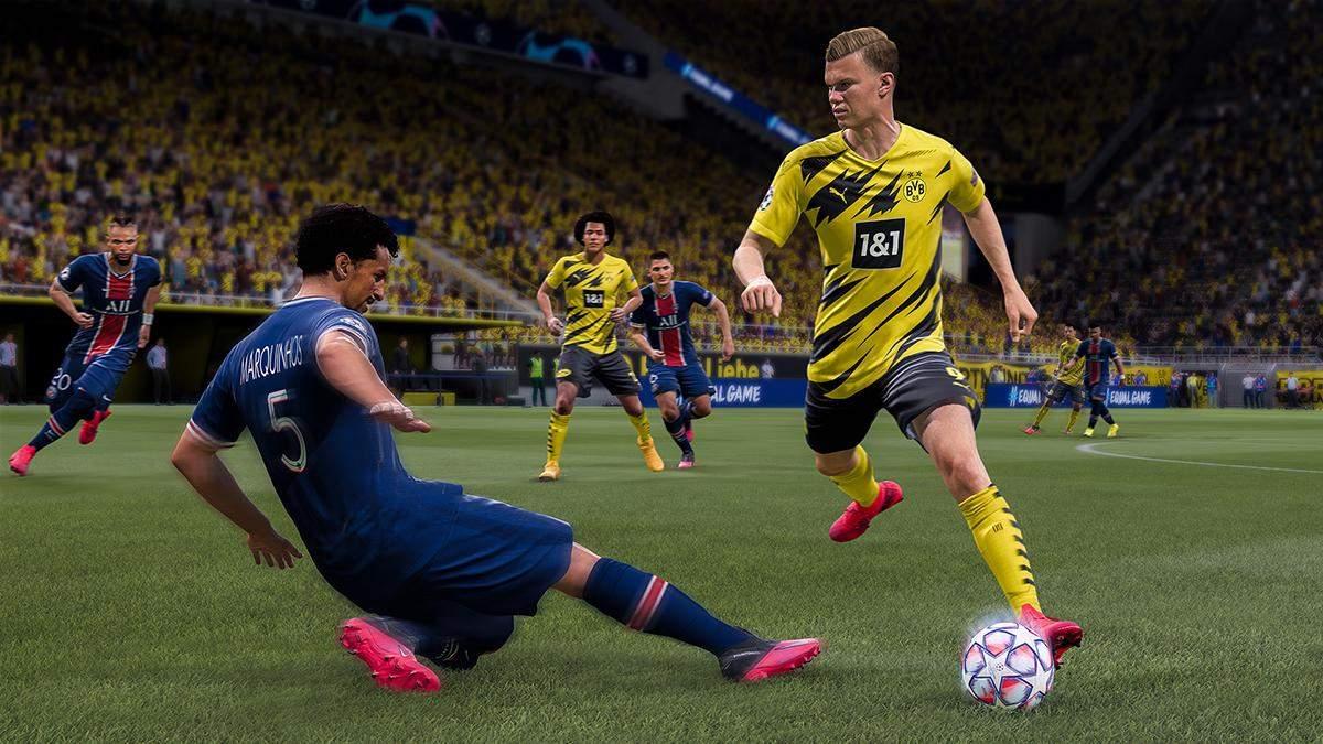 Electronic Arts випустила неочікуване оновлення для FIFA 21
