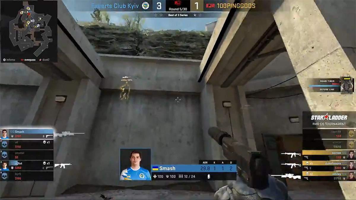 Гравець у CS:GO отримав неочікуваний подарунок від опонентів