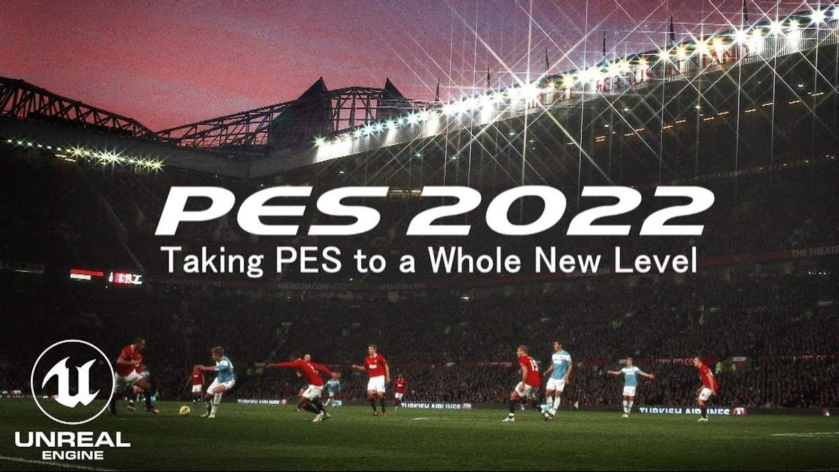 Геймплей PES 2022 на движке Unreal Engine 4