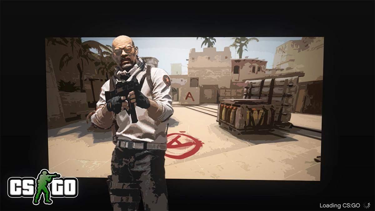 В стилистике GTA: энтузиаст обновил экран загрузки CS:GO