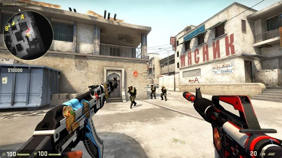 Известно среднее количество выстрелов, необходимых для убийства врага на разных рангах в CS: GO