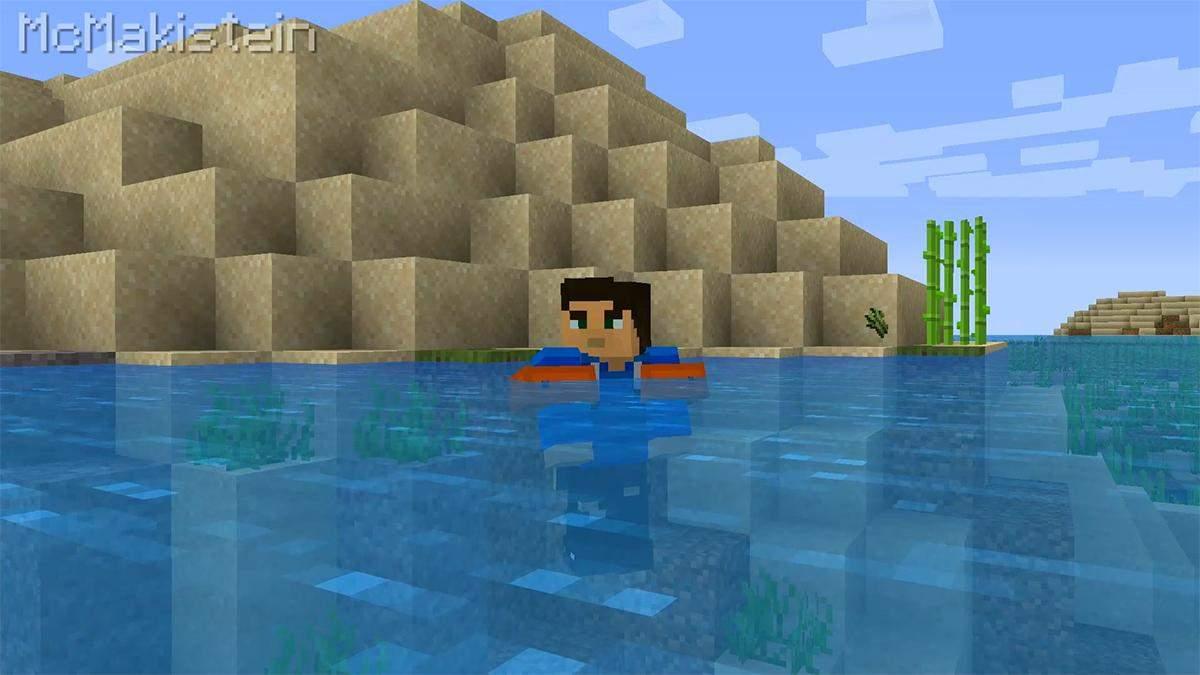 Энтузиаст создал мод для Minecraft, который защищает героев от смерти