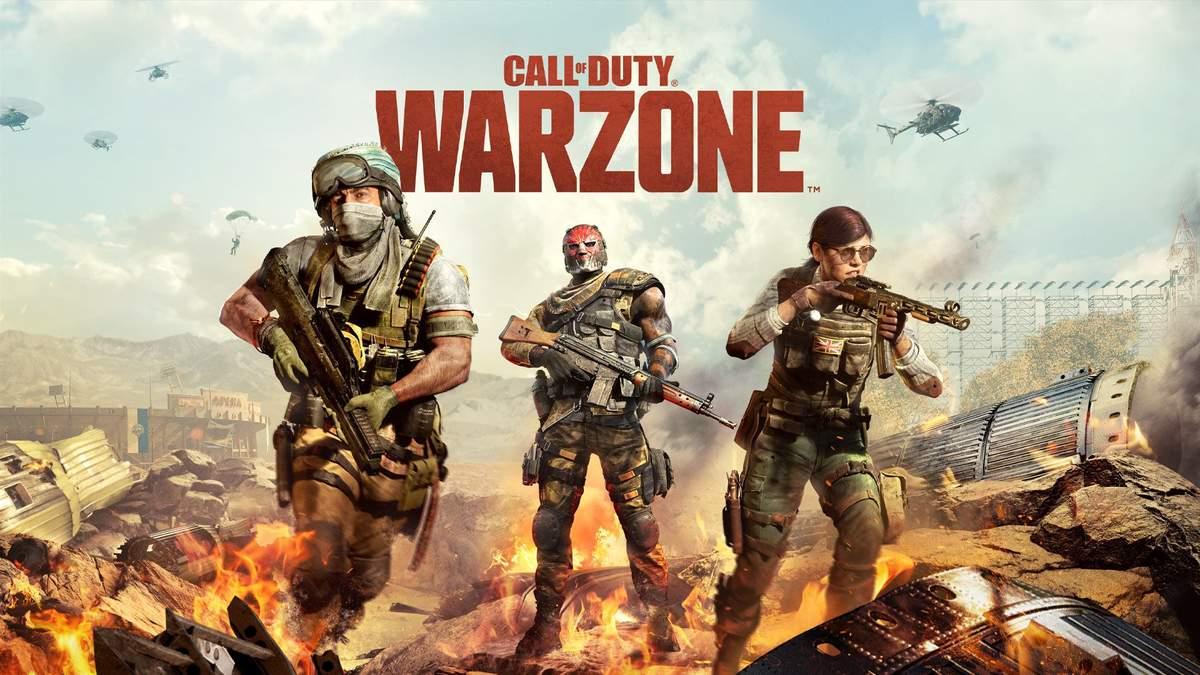 Найкраща зброя у Call of Duty: Warzone