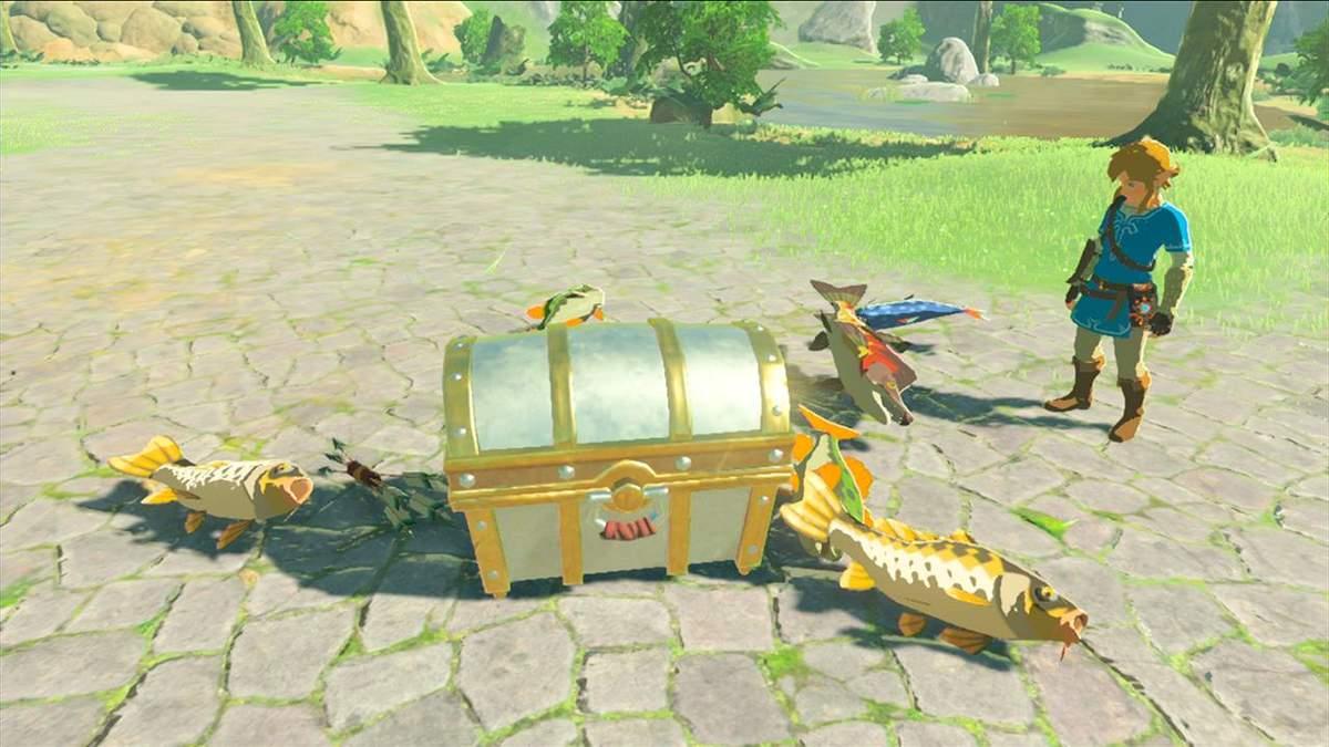 """Геймер первым в мире открыл """"невозможный"""" сундук в Zelda: Breath of the Wild"""