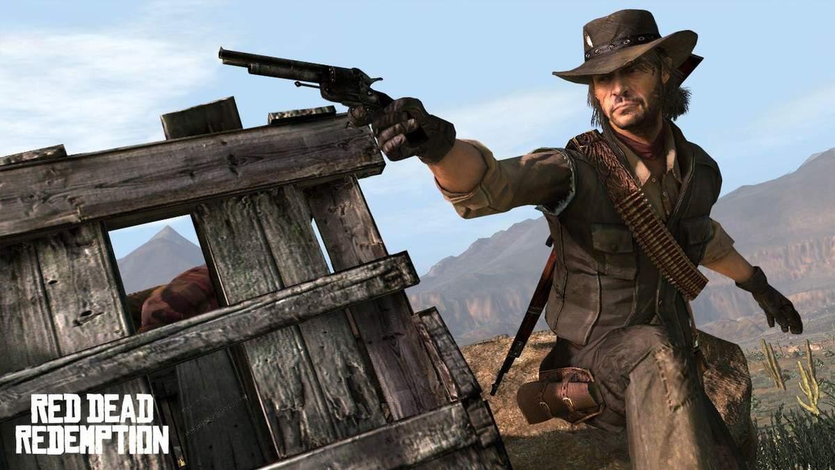 Рекламні зображення Red Dead Redemption відтворили у Red Dead Redemption 2