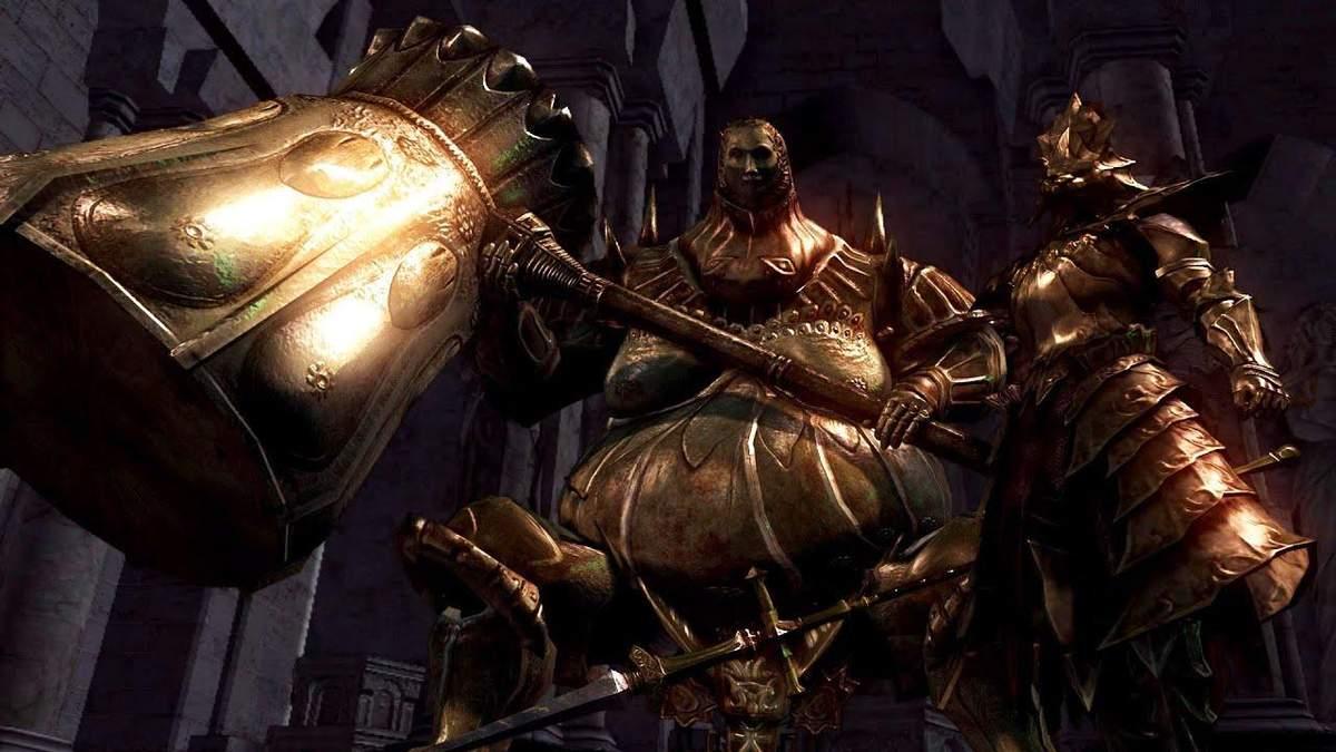 Катись к победе: стримерка одолела одних из самых тяжелых боссов Dark Souls необычным образом