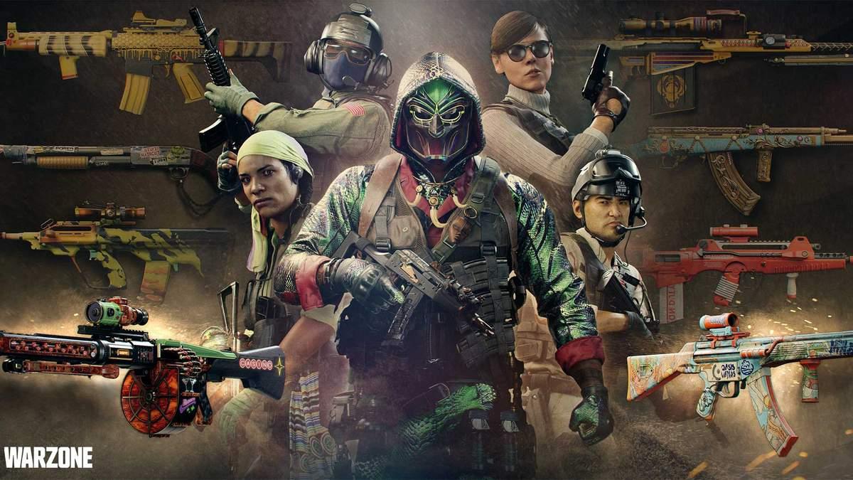 Перезавантаження 4–го сезону Warzone: новий режим, оперативник, зброя та інше
