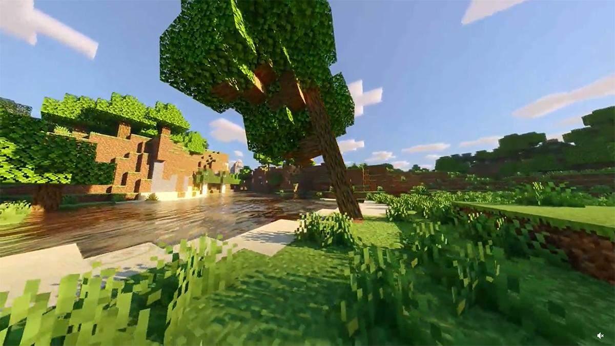 Энтузиаст показал вид игры Minecraft с реалистичной физикой