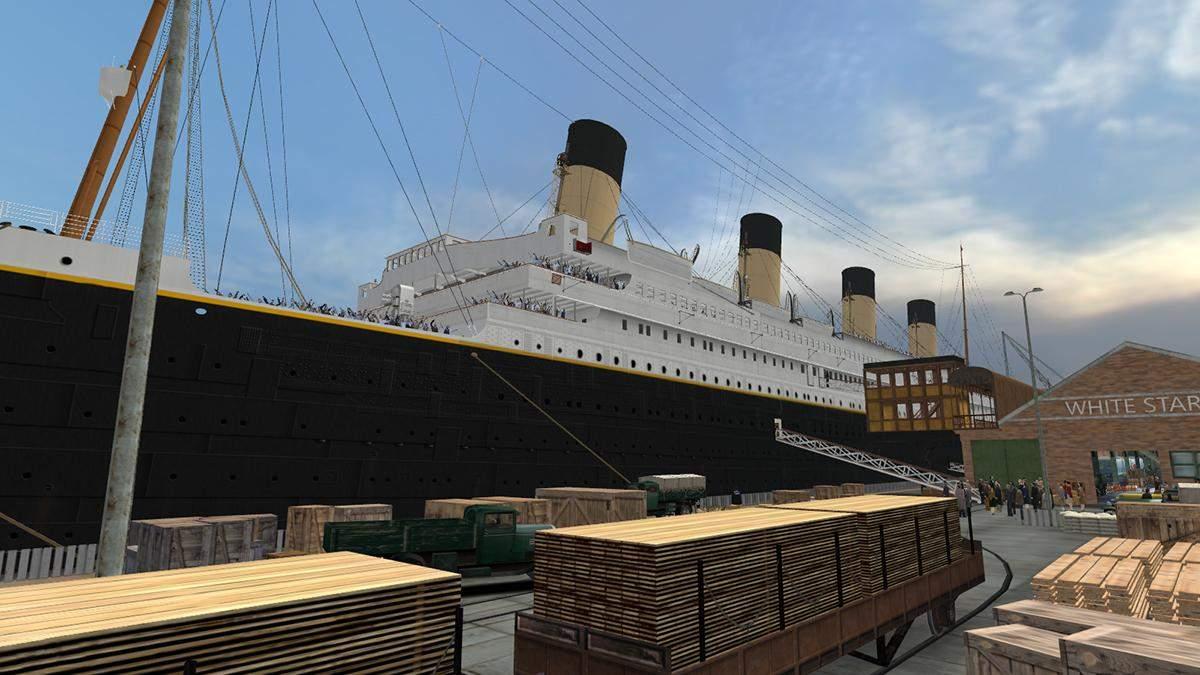 Команда энтузиастов воссоздает Титаник в видеоигре Mafia
