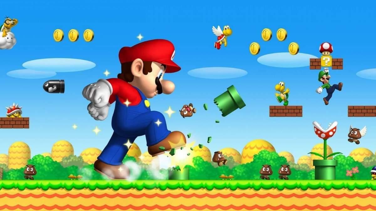 Спидранер установил рекорд по скоростному прохождению Super Mario Bros. с завязанными глазами