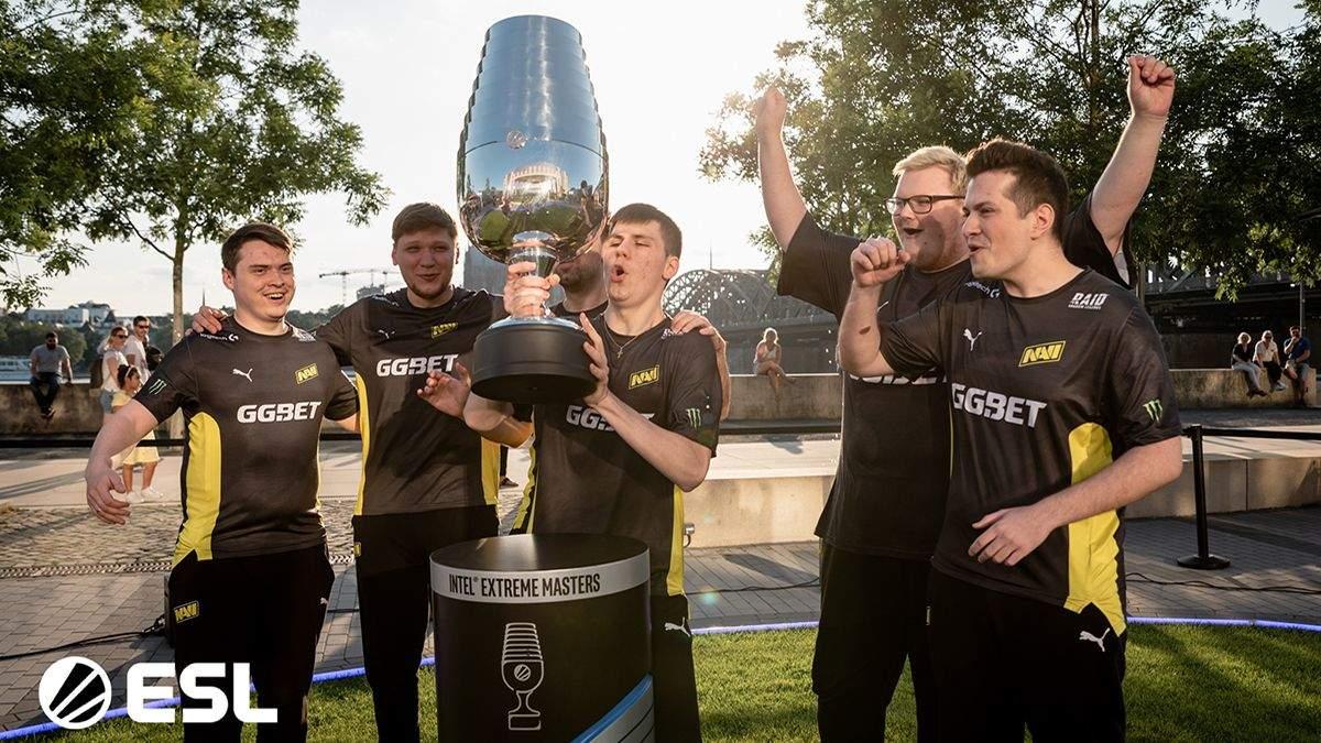 Команда Natus Vincere с CS:GO победила в финале IEM Cologne 2021
