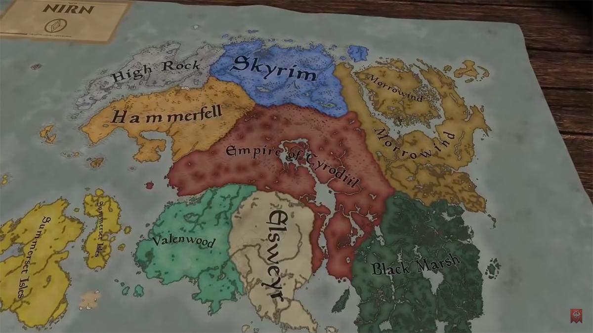 Фанати вирішили об'єднати The Elder Scrolls та Crusader Kings 3