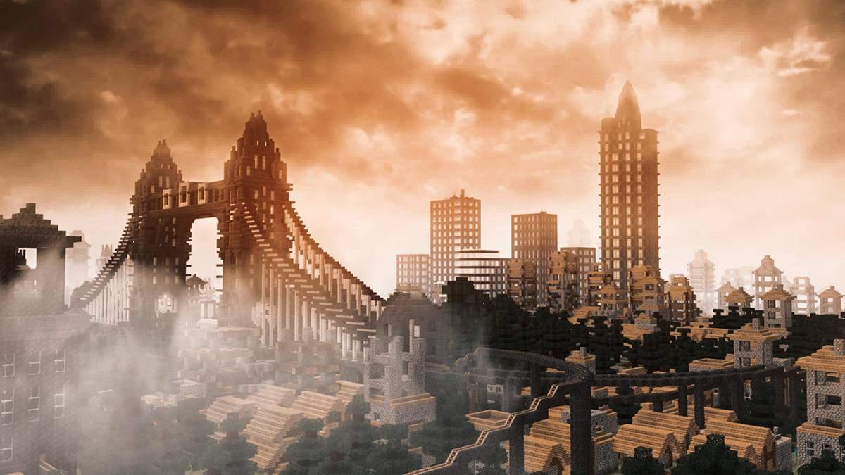 Гравець у Minecraft витратив 7 років на будівництво різноманітних міст