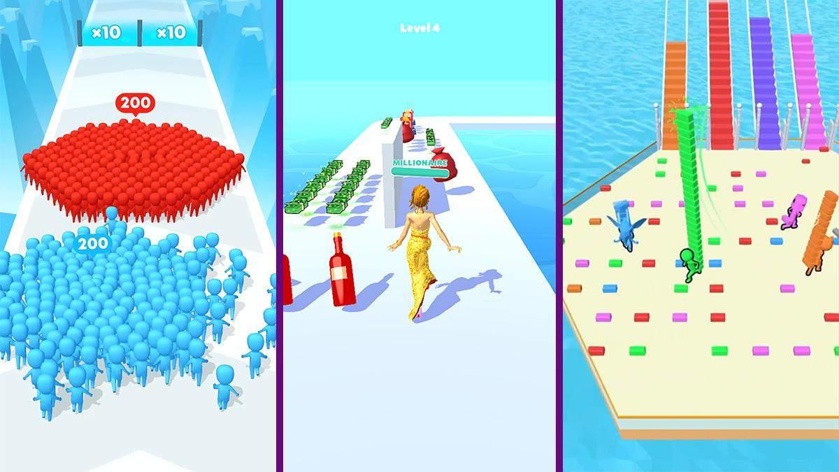Найпопулярніші мобільні ігри: My Talking Angela 2 та Run Rich 3D
