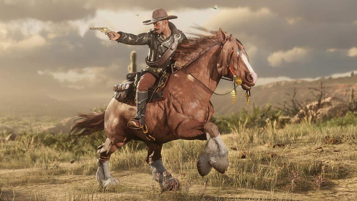 У відеогрі Red Dead Online з'явилися неконтрольовані коні