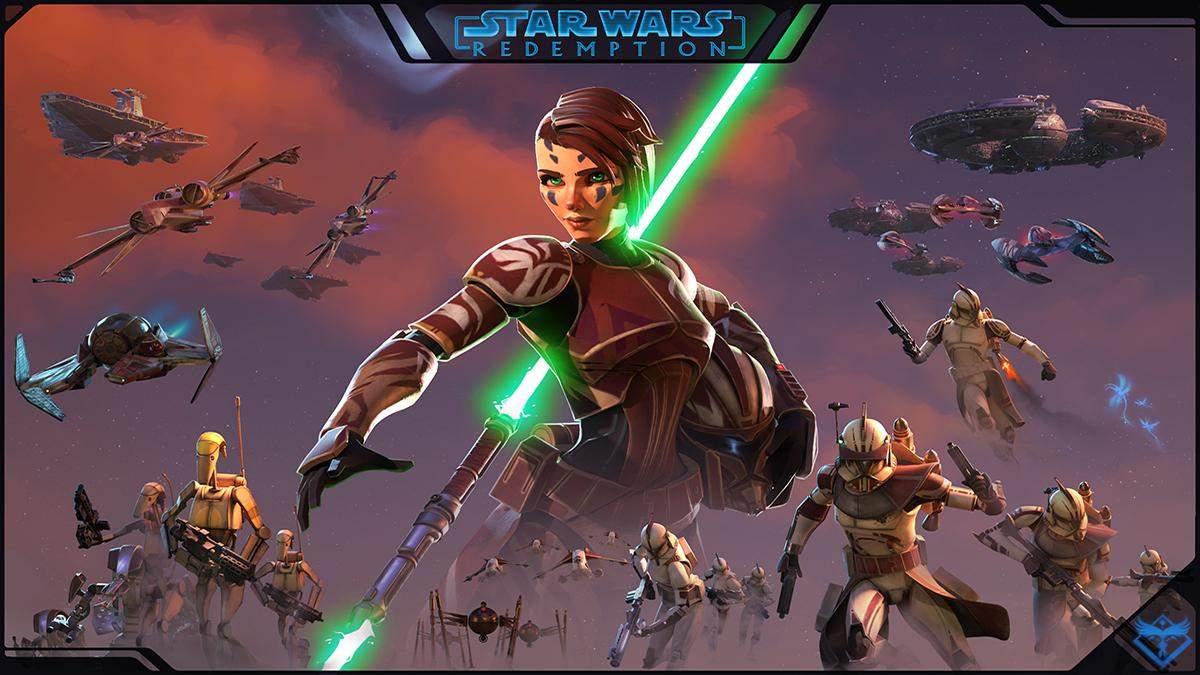 Энтузиаст создал интересную видеоигру по мотивам Звездных войн