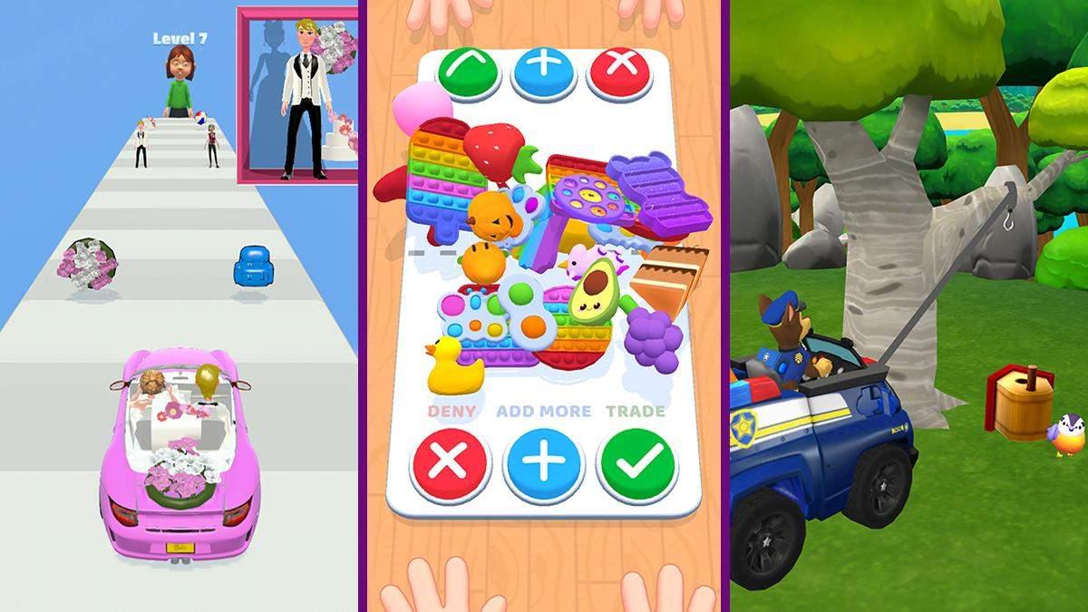 Fidget Toys Trading и PAW Patrol Rescue World: популярные игры