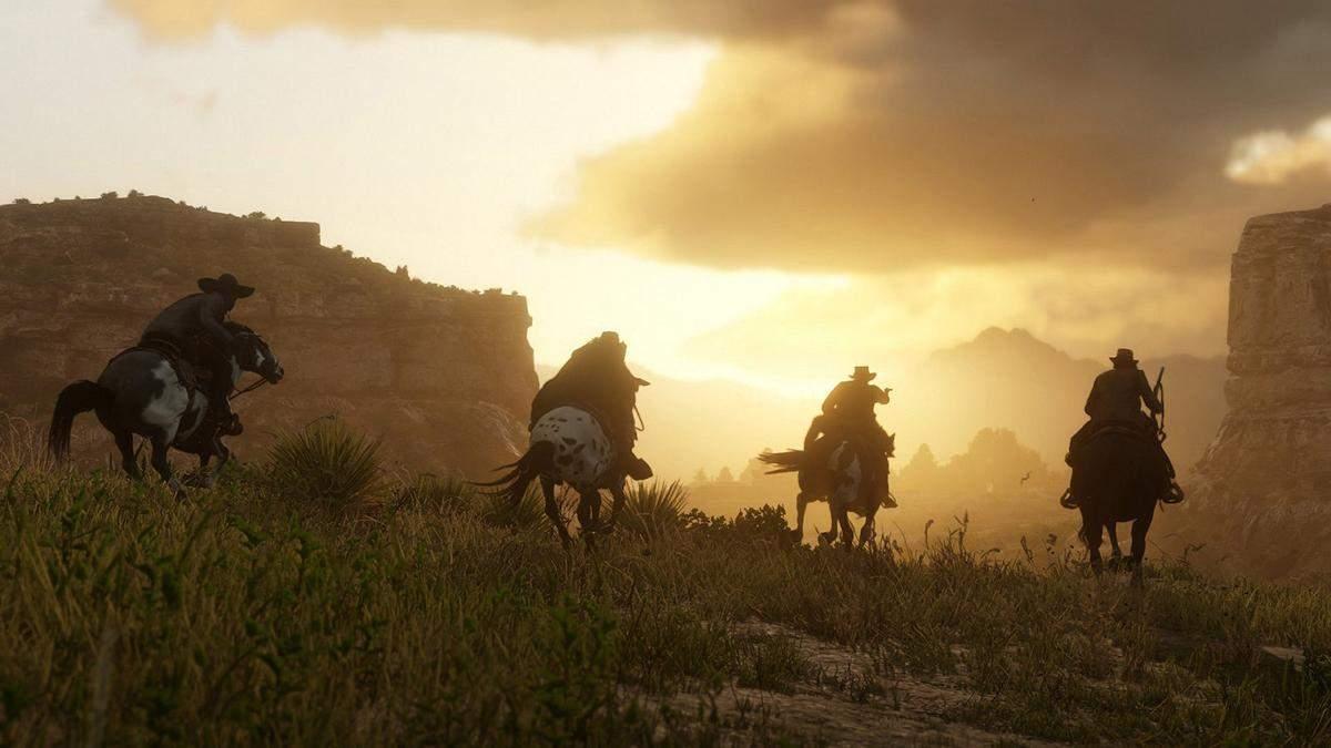 Невероятное внимание к деталям: игрок в Red Dead Redemption 2 стал свидетелем интересной сцены - Игры - Games