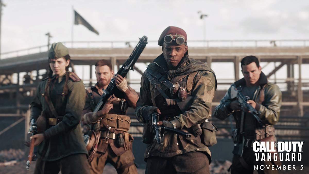 Останется только один: Activision представила новый режим для Call of Duty: Vanguard - Игры - Games