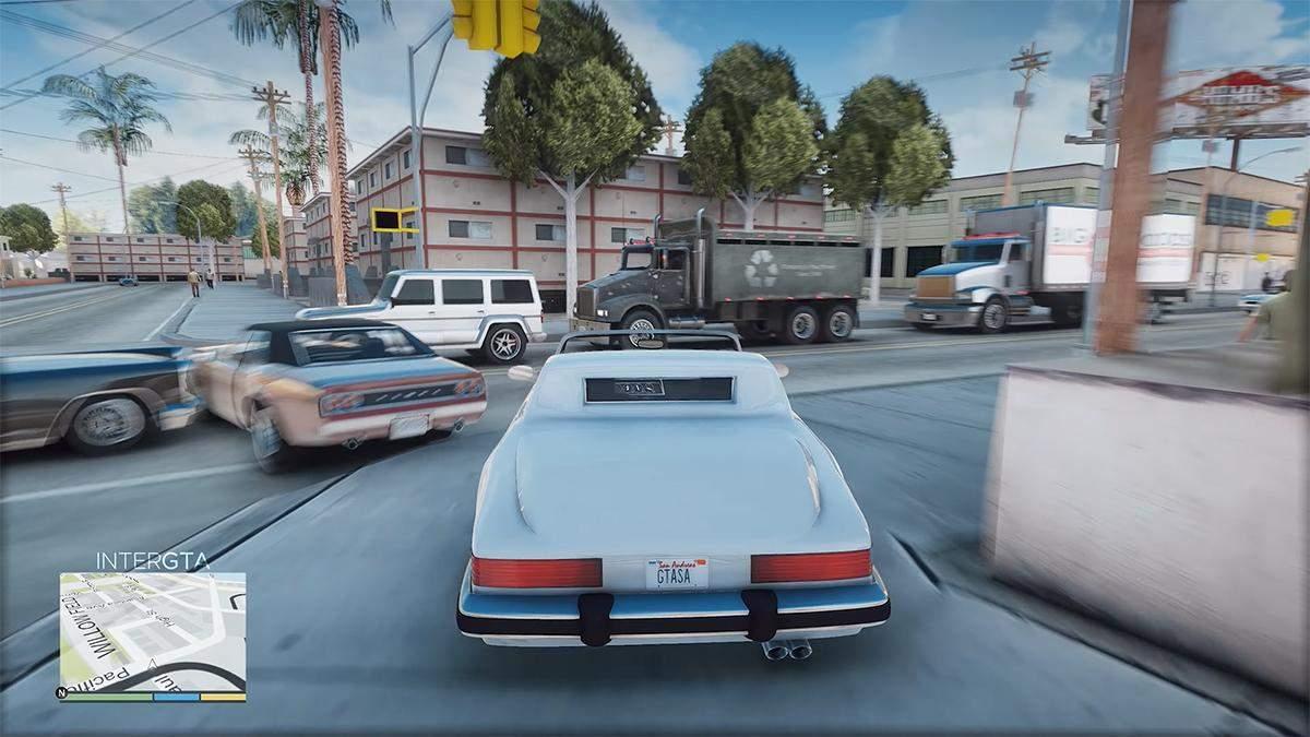 Геймеры показали, как выглядят запрещенные ремастеры GTA Vice City и GTA San Andreas - Игры - Games