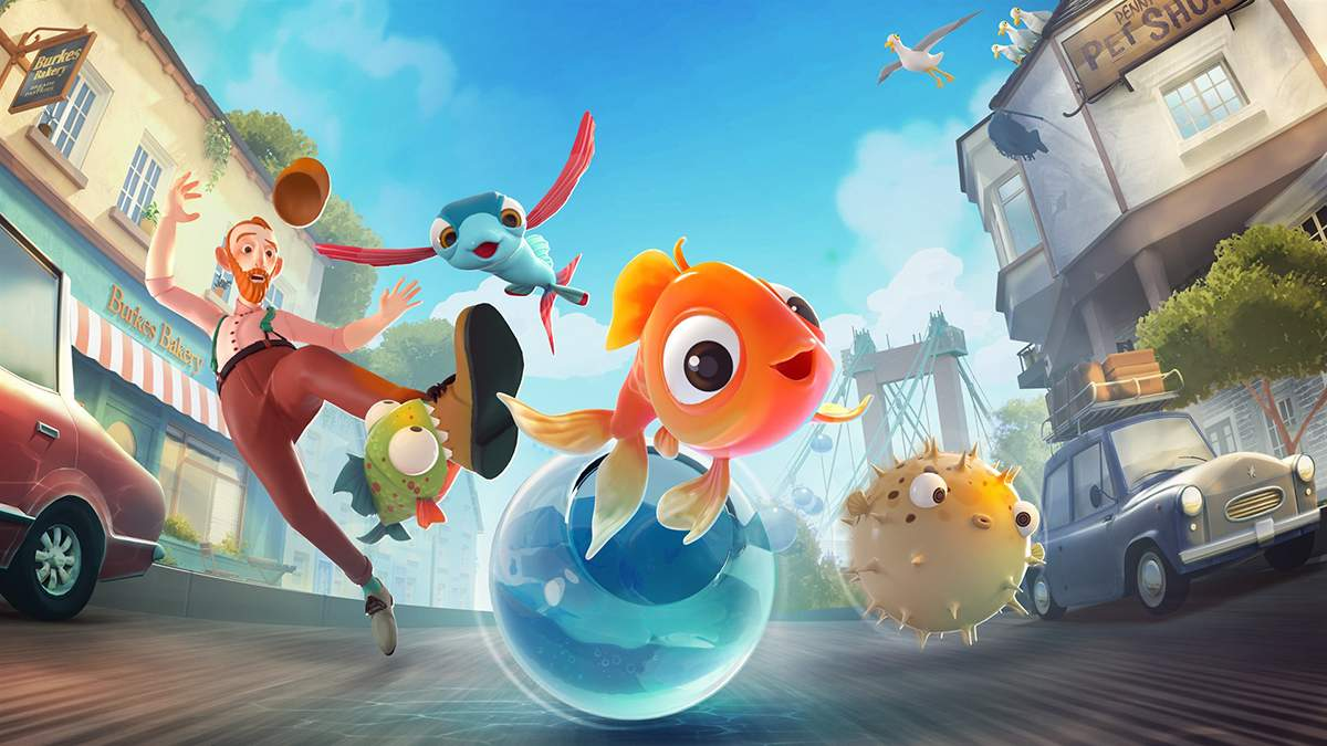 Бесстрашные рыбки в поисках океана: в сети появился новый трейлер забавной игры I Am Fish - Игры - Games