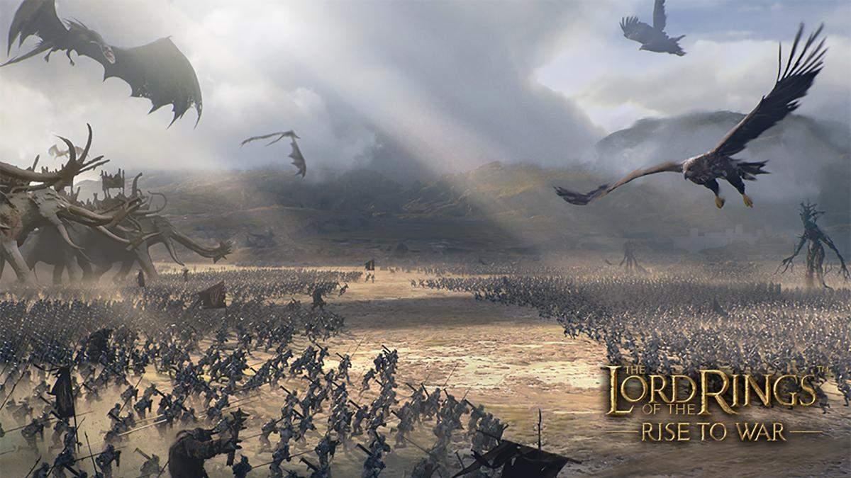 """""""Світ змінився"""": у мережі з'явилася нова інформація про гру The Lord of the Rings: Rise to War - Ігри - games"""