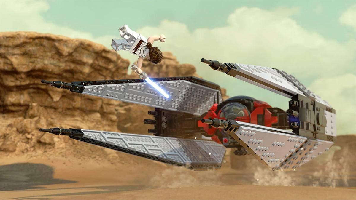 Масштабы впечатляют: в сети появился новый трейлер игры LEGO Star Wars: The Skywalker Saga - Игры - Games