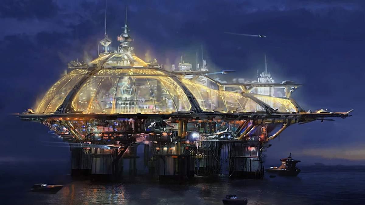 Акила, Новая Атлантида и Неон – разработчики Starfield показали локации будущей игры - Игры - Games