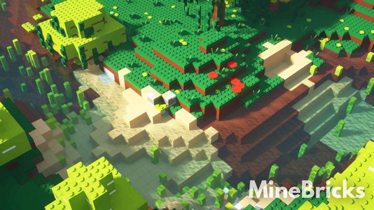 В стилистике Lego: энтузиаст создал уникальный набор текстур для Minecraft - Игры - Games