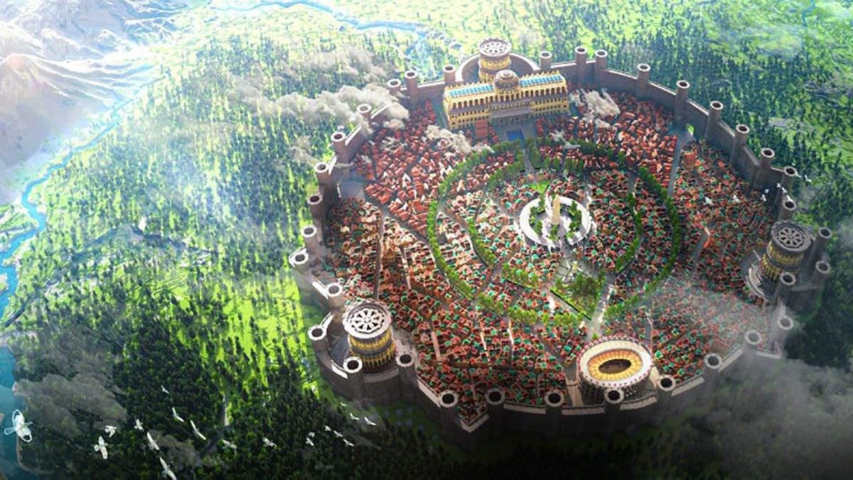 Потребовалось более тысячи часов: команда энтузиастов создала в Minecraft фантастический город - Игры - Games