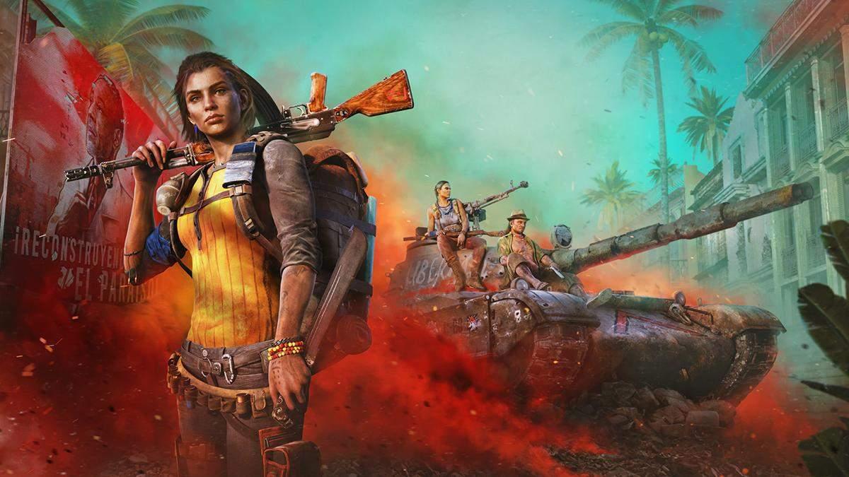 Необычное оружие, опасные любимцы и система кастомизации: Ubisoft показала геймплей Far Cry 6 - Игры - Games