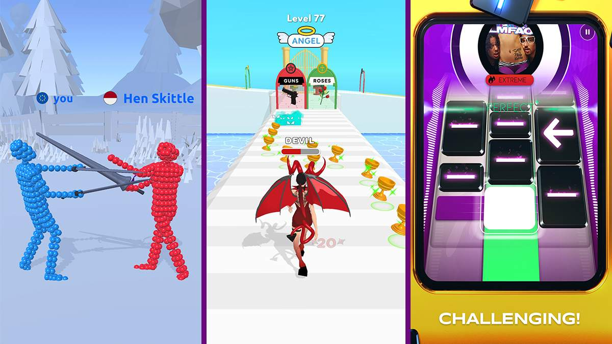 Найкращі мобільні ігри за останній тиждень: симулятор поєдинків та цікава музична новинка - Ігри - games